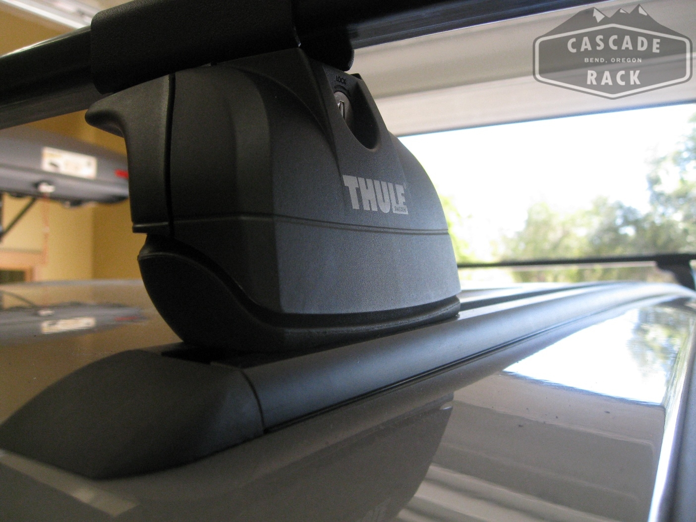 Thule - Custom Track and Base Rack Installation - 2014 Dodge Grand Caravan