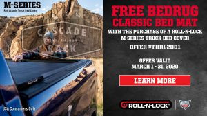 3/1//2020 to 3/31/2020 Consumers Receive a Free Bed Mat with Purchase of Roll-N-Lock